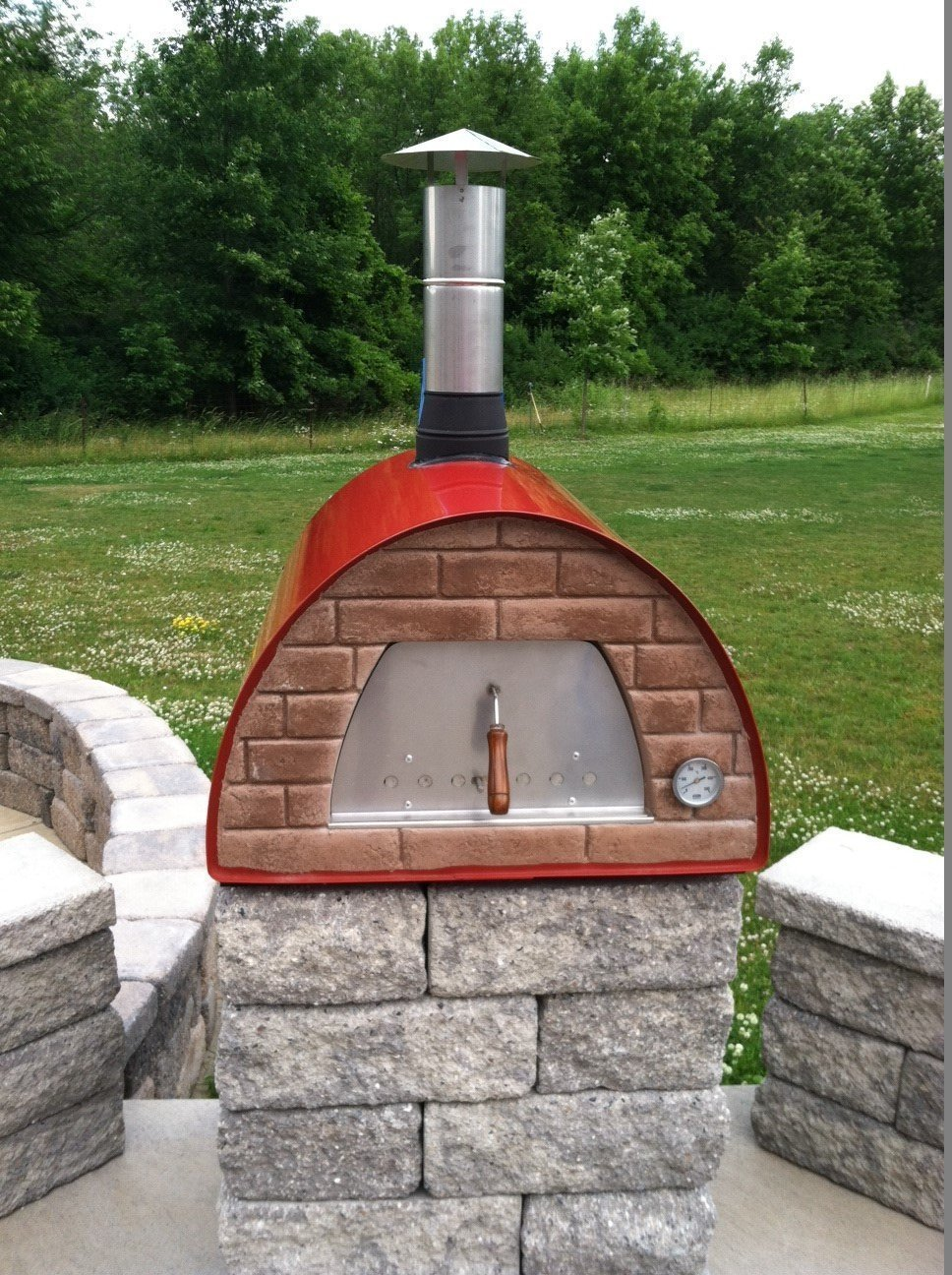 Maximus Wood Fired Pizza Oven Review Pizza Oven Reviews