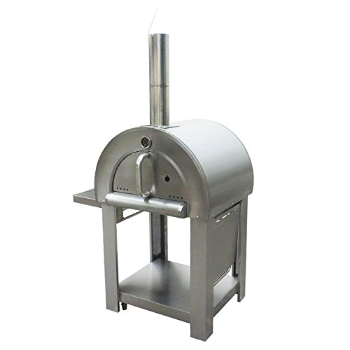 Stainless Steel Outdoor Wood Fired Pizza Oven