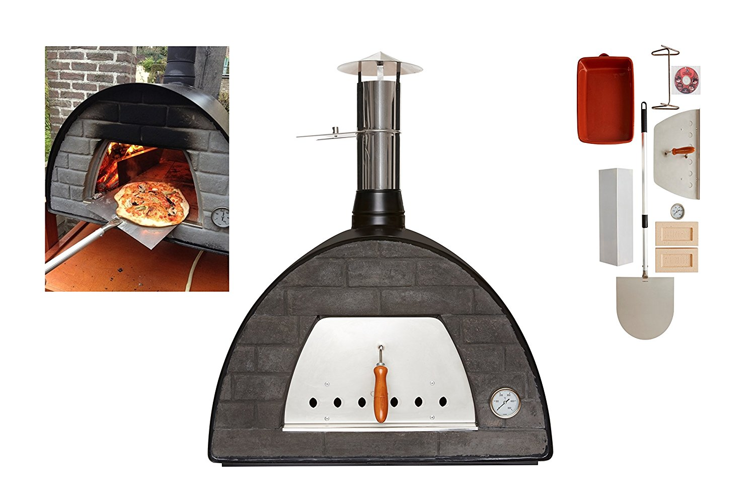 Escape The Indoors Wood-Fired Outdoor Pizza Oven