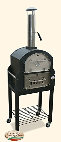 Forno Buono Amalfi Pro Wood-Fired Outdoor Pizza Oven