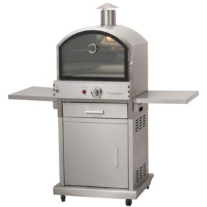 Heavy Duty Milano Gas Pizza BBQ Oven Commercial Kitchen Outdoor Catering Event Review