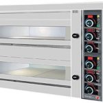 North Pro FPD 152 Commercial Electric Twin Deck Pizza Oven